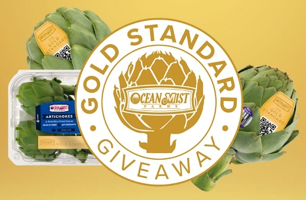 Ocean Mist Farms Gold Standard Giveaway