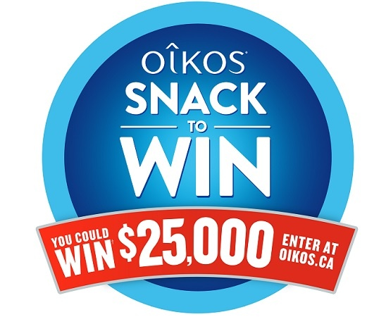 Oikos Snack to Win Contest 2020