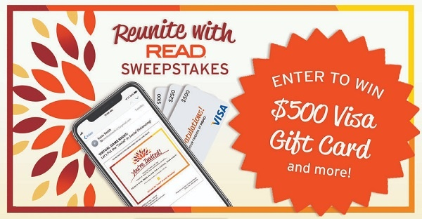 READ Virtual Game Night Sweepstakes