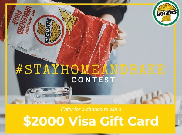 Rogers Foods Stay Home and Bake Contest