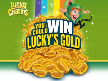 Lucky Charms Win Lucky's Gold Sweepstakes