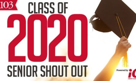 Class Of 2020 Senior Shout Out Contest