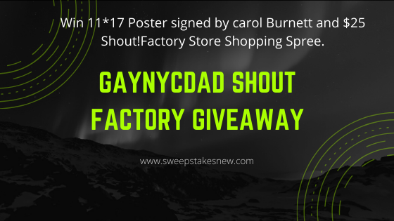 GayNYCDad Shout Factory Giveaway
