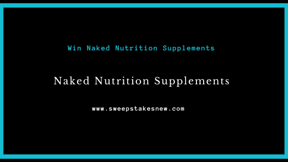 Have Sippy Will Travel Naked Nutrition Sweepstakes