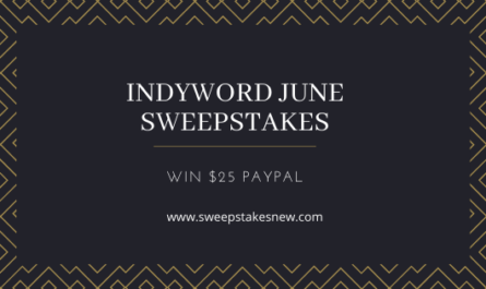 Indyword June Sweepstakes