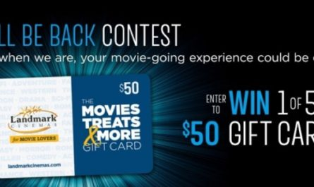 Landmark Cinemas We'll Be Back Contest