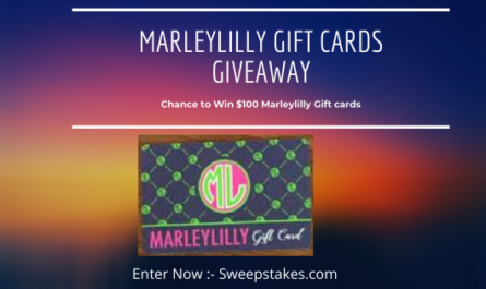 Marleylilly Gift cards Giveaway