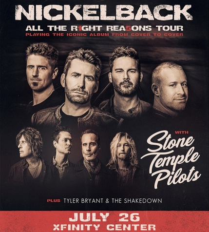 Nickelback Contest - Win Pair Of Tickets