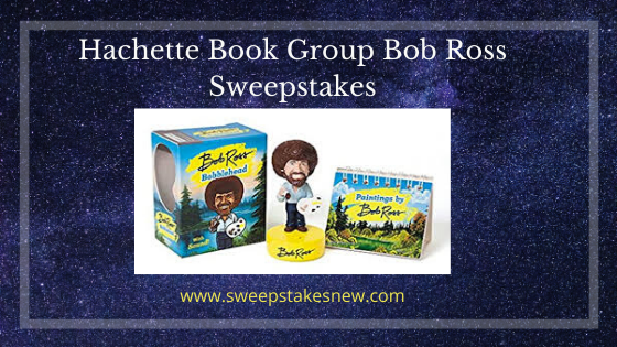Hachette Book Group Bob Ross Sweepstakes