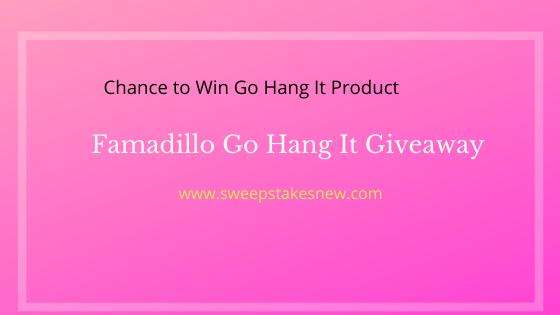 Famadillo Go Hang It Giveaway