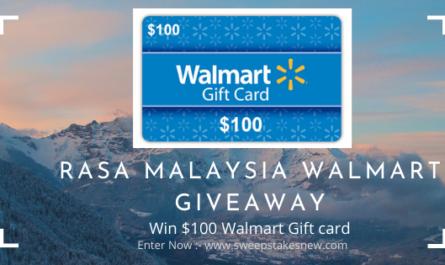 Rasa Malaysia Walmart Giveaway