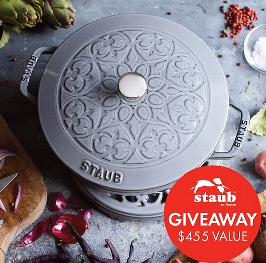 Staub Cast Iron Round French Oven 5L Giveaway