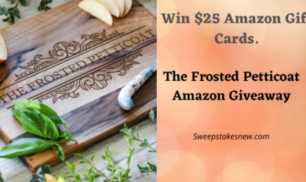 The Frosted Petticoat Amazon Giveaway
