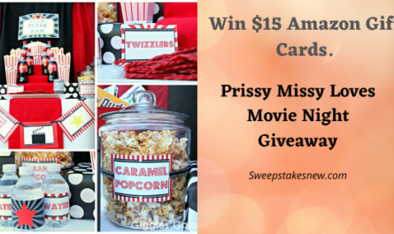 Prissy Missy Loves Movie Night Giveaway