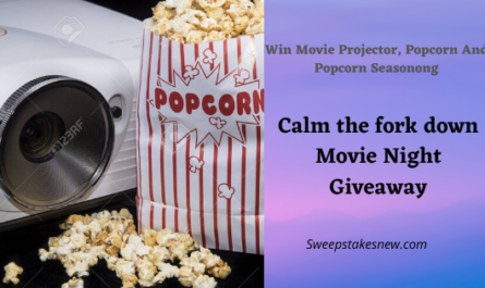 Calm the fork down Movie Night Giveaway