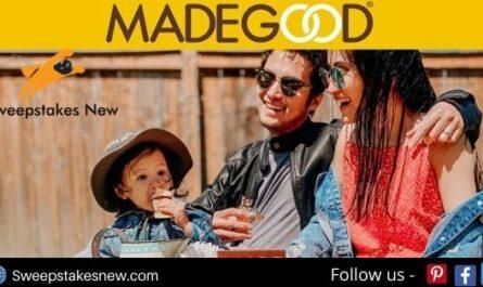 MadeGood Moments Sweepstakes on madegoodmoments.com