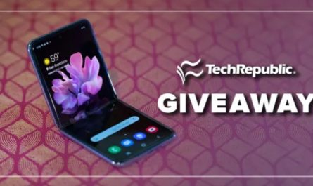 Techrepublic Flip It Samsung Galaxy Z Flip Sweepstakes