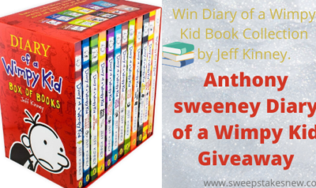 Anthony sweeney Diary of a Wimpy Kid Giveaway