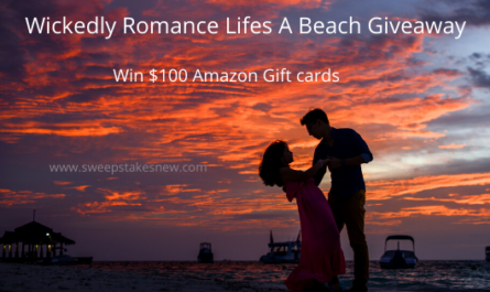 Wickedly Romance Lifes A Beach Giveaway