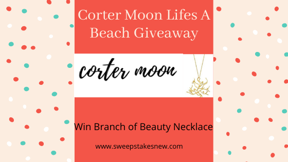Corter Moon Lifes A Beach Giveaway