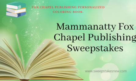 Mammanatty Fox Chapel Publishing SWeepstakes