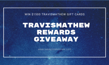Travismathew Rewards Giveaway