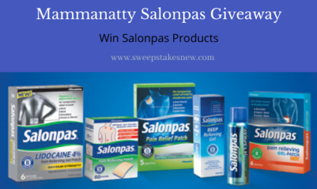 Mammanatty Salonpas Giveaway