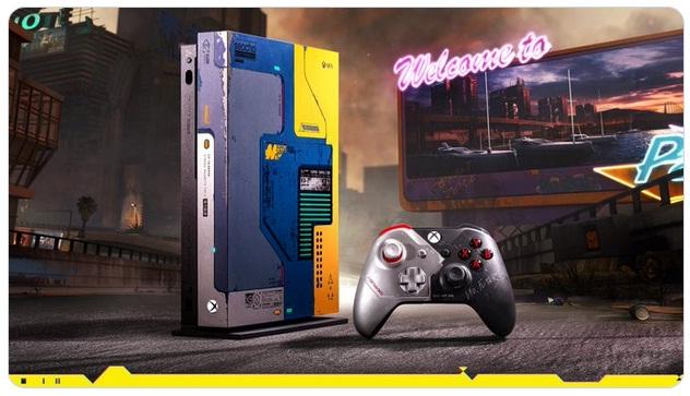 Xbox One X Cyberpunk 2077 Giveaway
