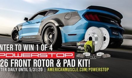 American Muscle Power Stop Z26 Sweepstakes