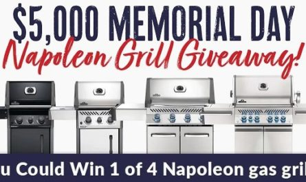 BBQGuys Napoleon Grill Giveaway 2020