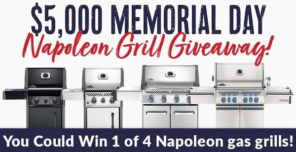 BBQGuys Napoleon Grill Giveaway
