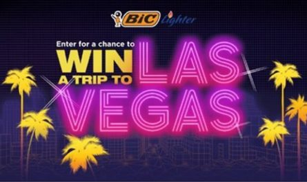 BIC Lighter Trip to Vegas Sweepstakes