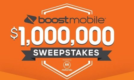 Boost Mobile Million Dollar Sweepstakes