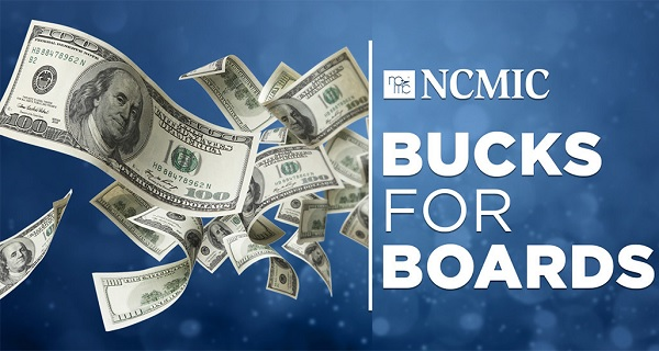 Bucks for Boards Sweepstakes