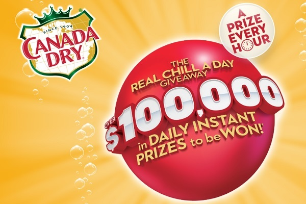 Canada Dry Real Chill a Day Contest