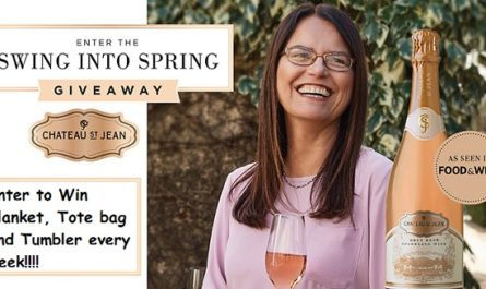 Chateau St. Jean Swing into Spring Giveaway