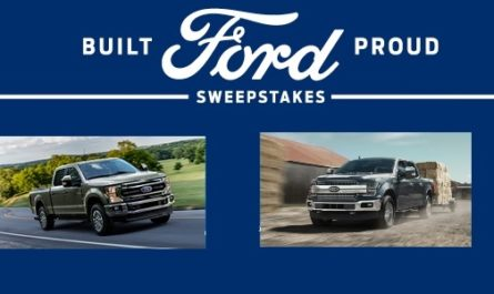 Ford Built Ford Proud Sweepstakes