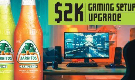 Gaming Setup Upgrade Sweepstakes