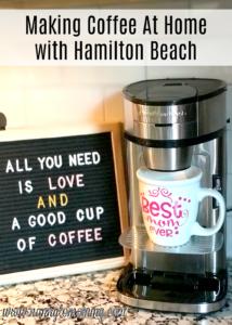 Nanny To Mommy Hamilton Beach Giveaway
