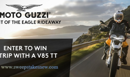 Moto Guzzi Motorcycle Road Trip Contest