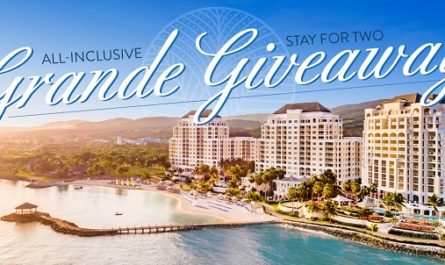 Jewel Grande Montego Bay Resort & Spa Grande Giveaway