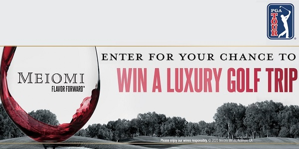 Meiomi Wines Golf Trip Sweepstakes