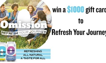 Omission Refresh Your Journey Sweepstakes