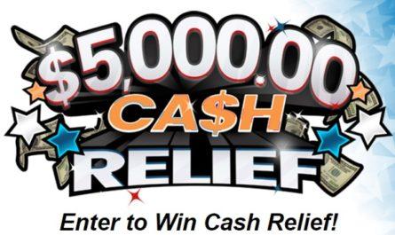 Pch.com $5000 Cash Relief Sweepstakes