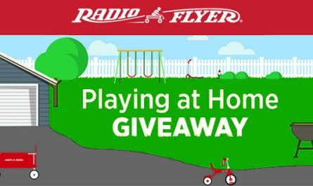 Radio Flyer Playing at Home Giveaway