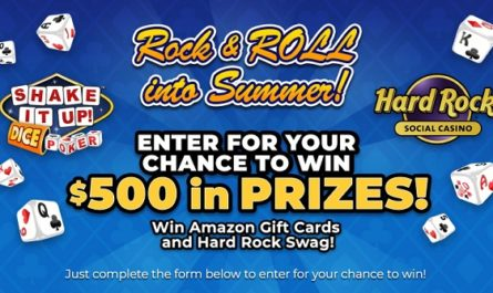 Rock and Roll into Summer Sweepstakes