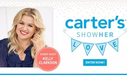 Carter's Virtual Baby Shower Sweepstakes