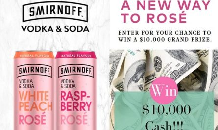 Smirnoff Vodka Soda Rosé Contest