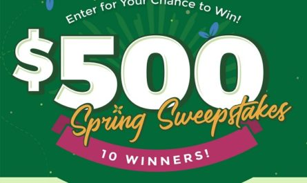 Stop Aging Now Spring Sweepstakes