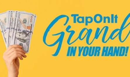 TapOnIt Visa Gift Card Sweepstakes